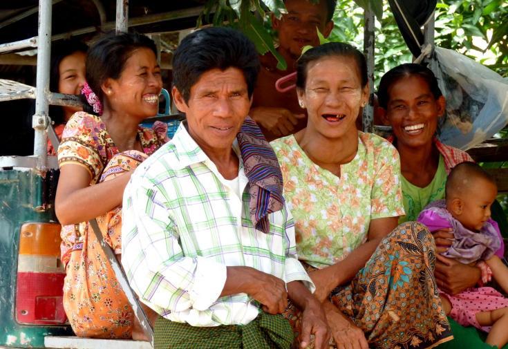 © Birmanie Myanmar lac Inle rencontres
