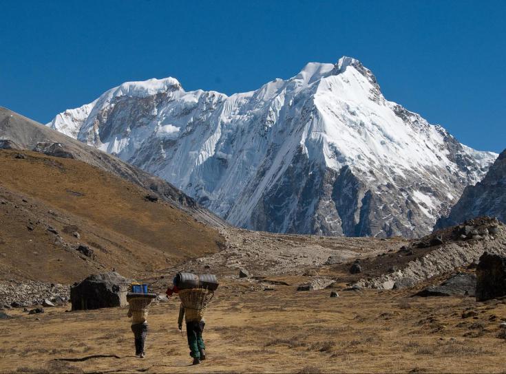 © Kangchenjunga et Lumbasumba