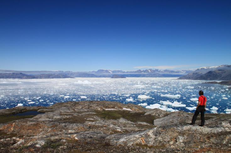 © kayak et trek au Groenland en famille