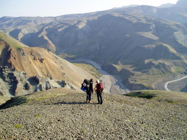 © trek en Islande dans le Lonsoraefi
