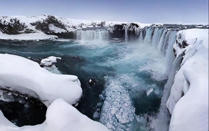 © raquettes en Islande
