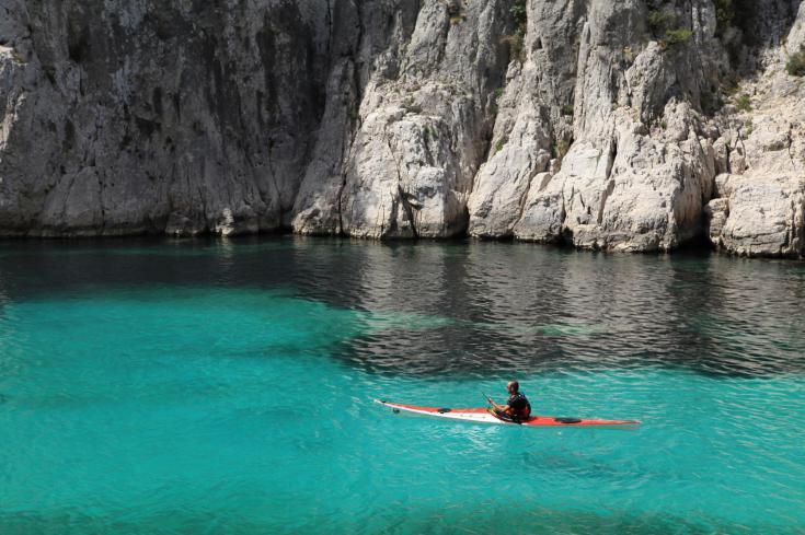 © Marseille kayak de mer