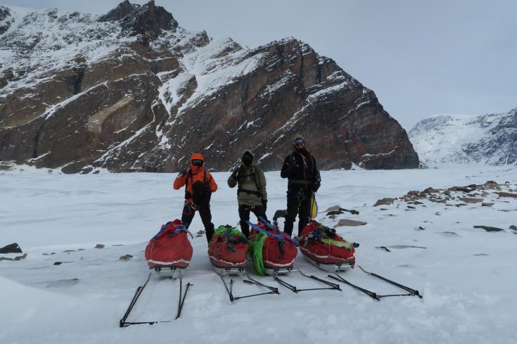 © initiation ski et pulka spitzberg 9 jours