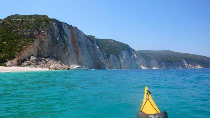 © Kayak de mer grèce