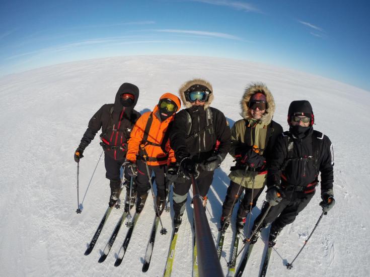 © voyage ski pulka en Islande mars
