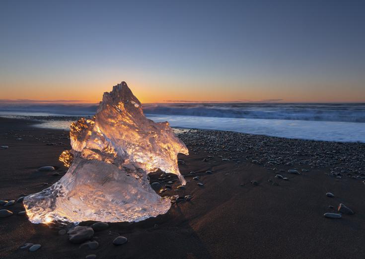© Aurores boréales en Islande
