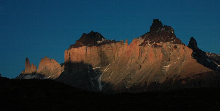 © Randonnée à Torres del Paine, Chili