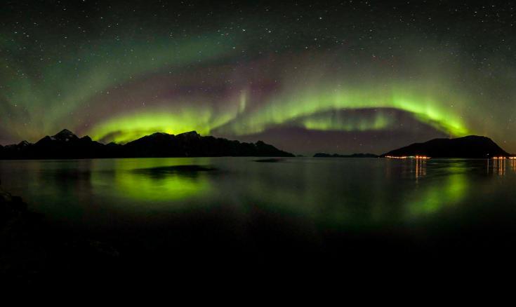 © voyage photo spécial aurores boréales en norvege dans le cercle polaire