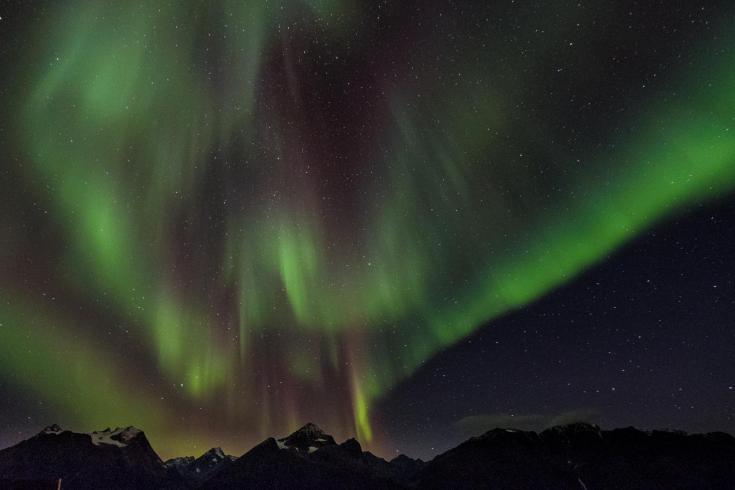 © voyage laponie en hiver, entre Suede et Norvege pour observer les aurores boreales et decouvrir l'arctique en hiver