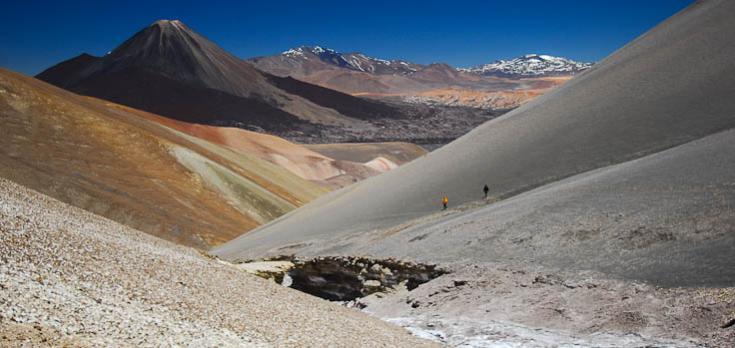 © Couleurs et reliefs de l'Atacama : trekking en Argentine Chili Bolivie Salar d'Uyuni