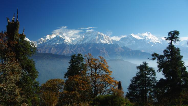 © Népal trek trekking Annapurna Annapurnas voyage Népal himalaya haute route