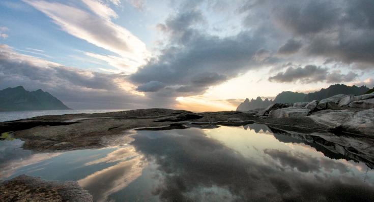 © Voyage Norvege Lofoten Trek Decouverte Tromso Cercle polaire arctique Laponie Trekking boreal