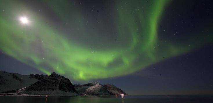 © voyage photo aurores boréales norvege cercle poalire