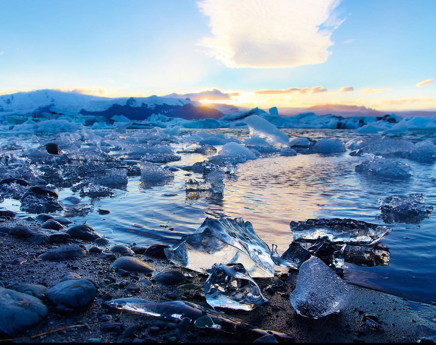 Islande  Aurores boréales et lumières d'Islande   Photo