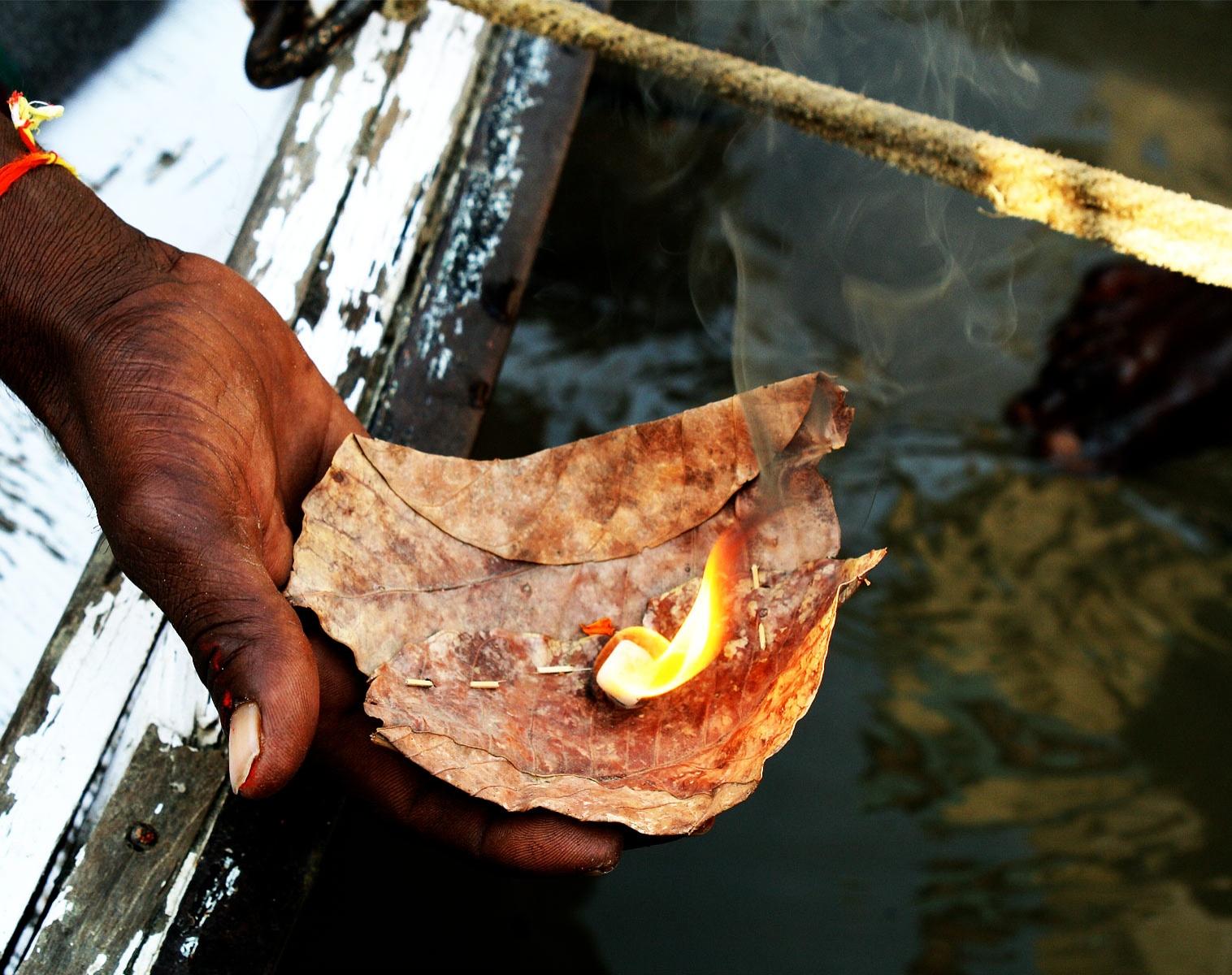 Inde  Descente sacrée du Gange   Découverte Navigation Balade nature