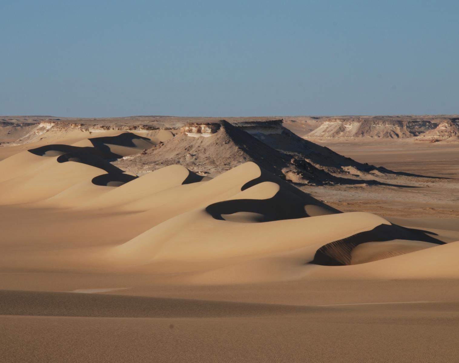 Égypte  Traversée du Désert Blanc à l'Oasis de Siwa   Trek & Randonnée