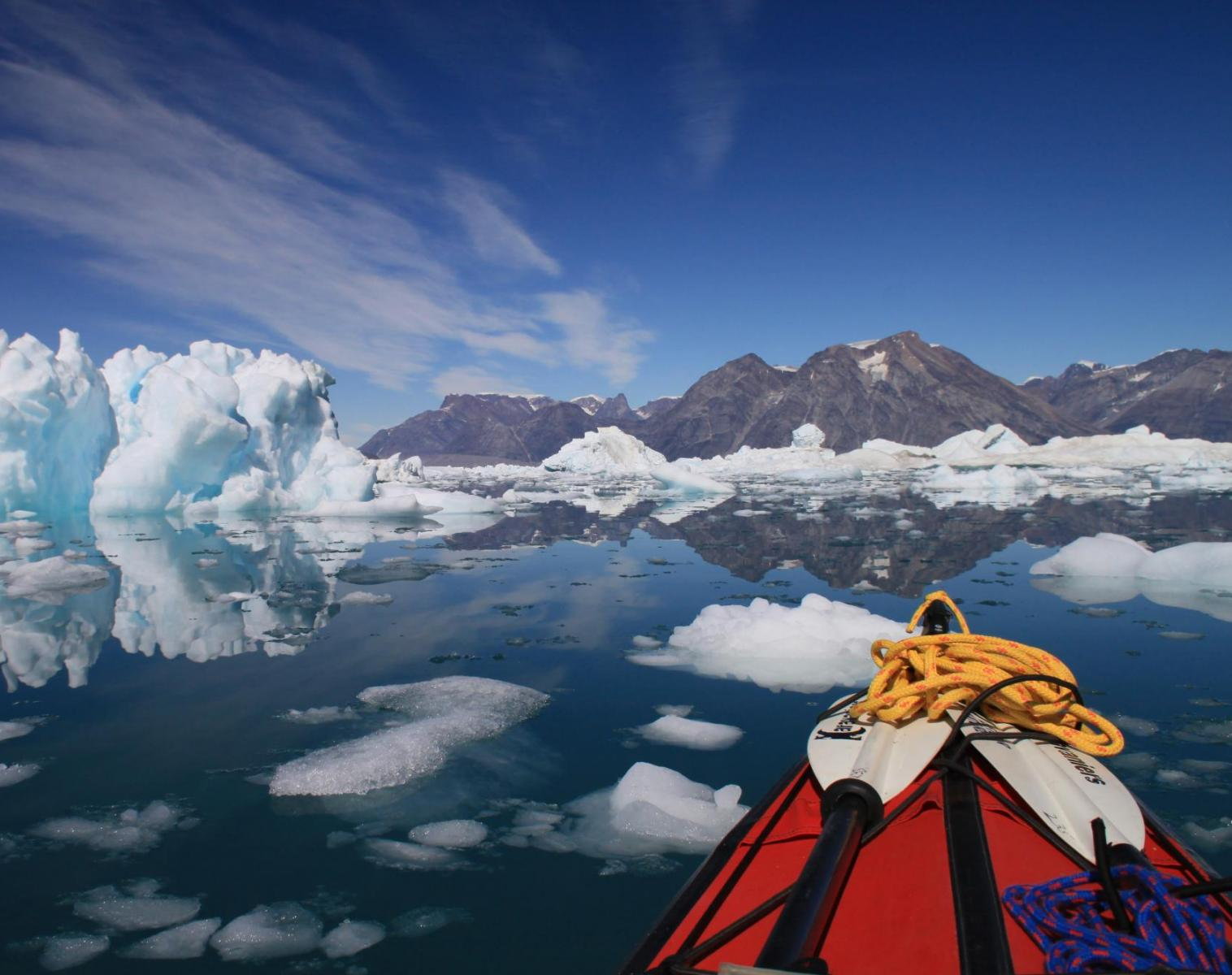 Groenland  Secrets des fjords de l'Est   Découverte Trek & Randonnée Kayak & Canoë
