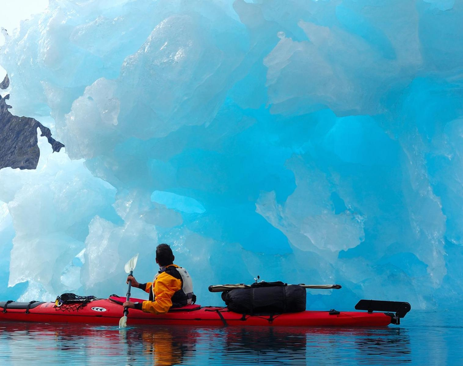 Groenland  Exploration en kayak du fjord Sermilik    Kayak & Canoë