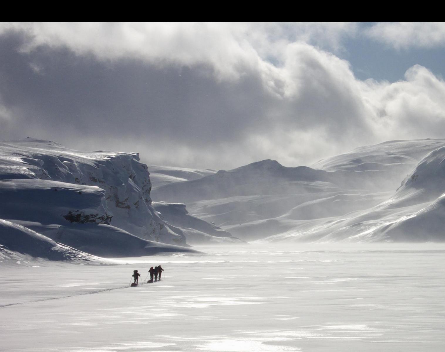 Norvège  Raid à ski dans les montagnes du Sørlandet   Ski & Pulka