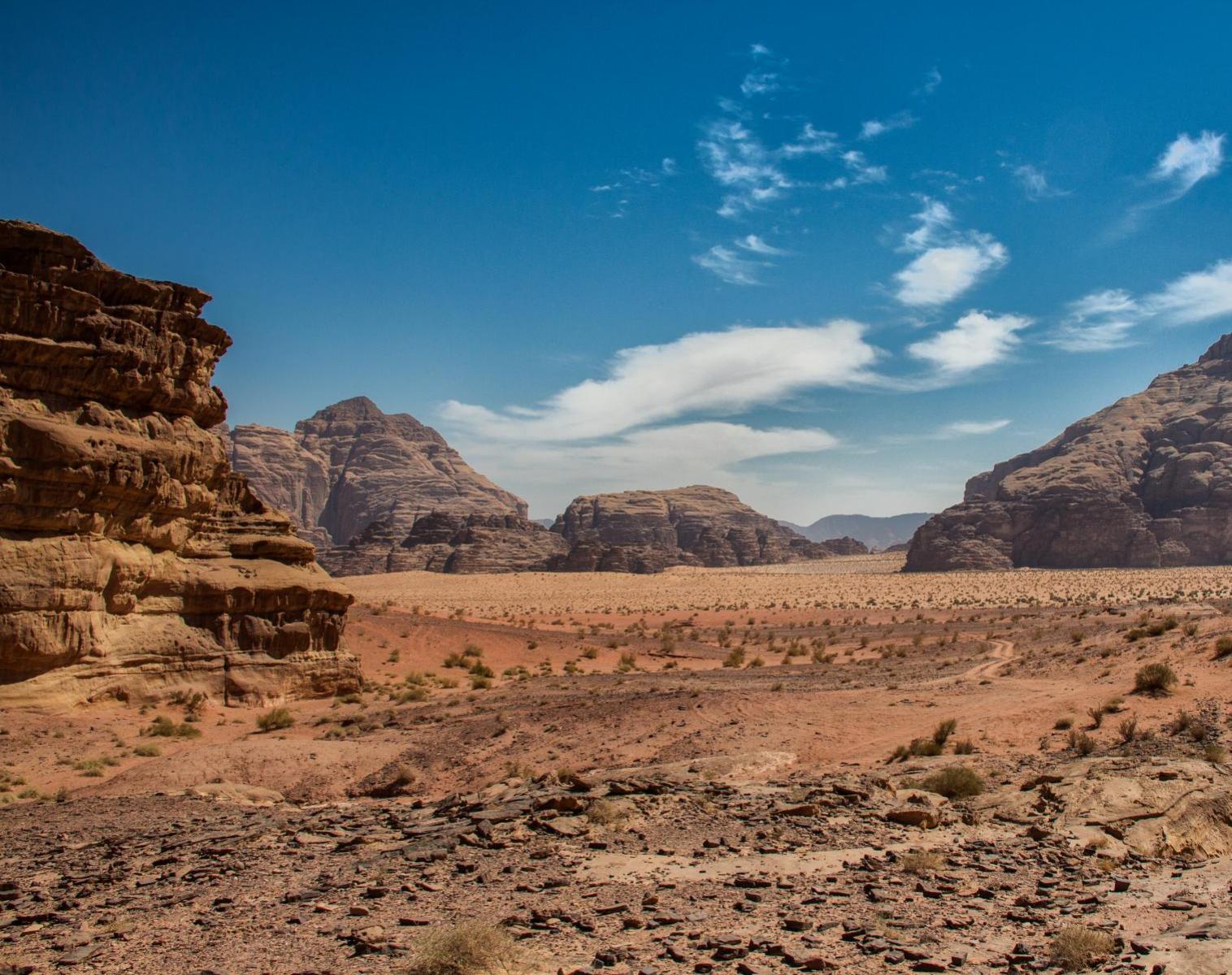 Jordanie  La piste des Nabatéens, de Pétra au Wadi Rum   Découverte Trek & Randonnée Rencontres et cultures du Monde