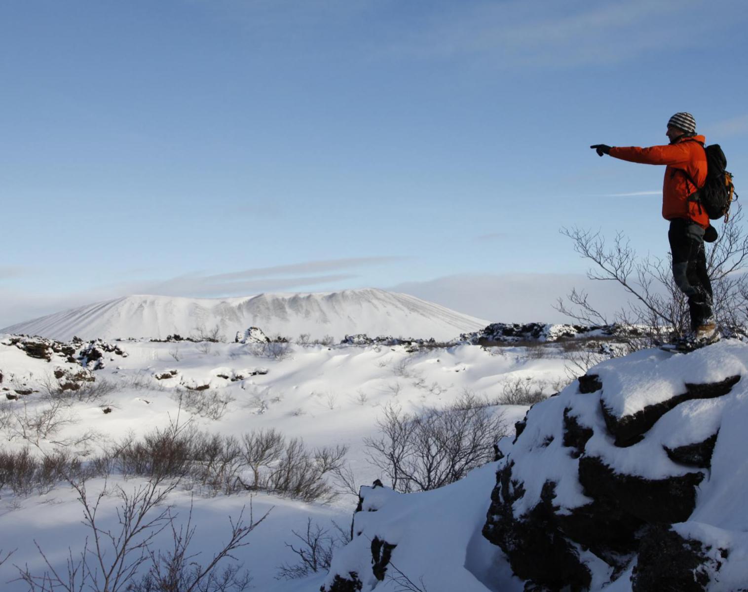 Islande  En raquettes au pays des Elfes   Découverte Raquettes