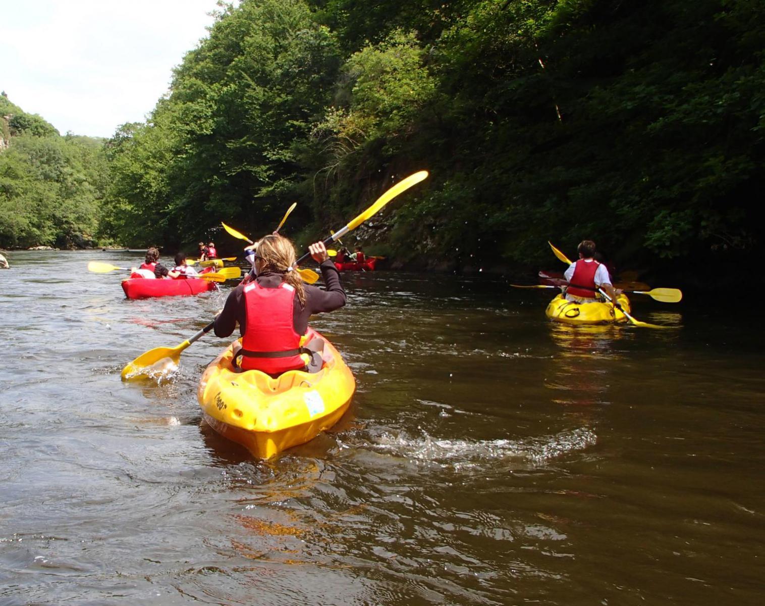 France  Graines d'aventuriers, exploration au cœur des Combrailles   Découverte Kayak & Canoë Observation nature Balade nature
