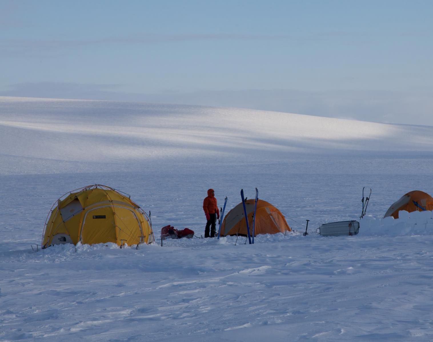 Spitzberg  Spitzberg, expédition 80 ° Nord   Ski & Pulka