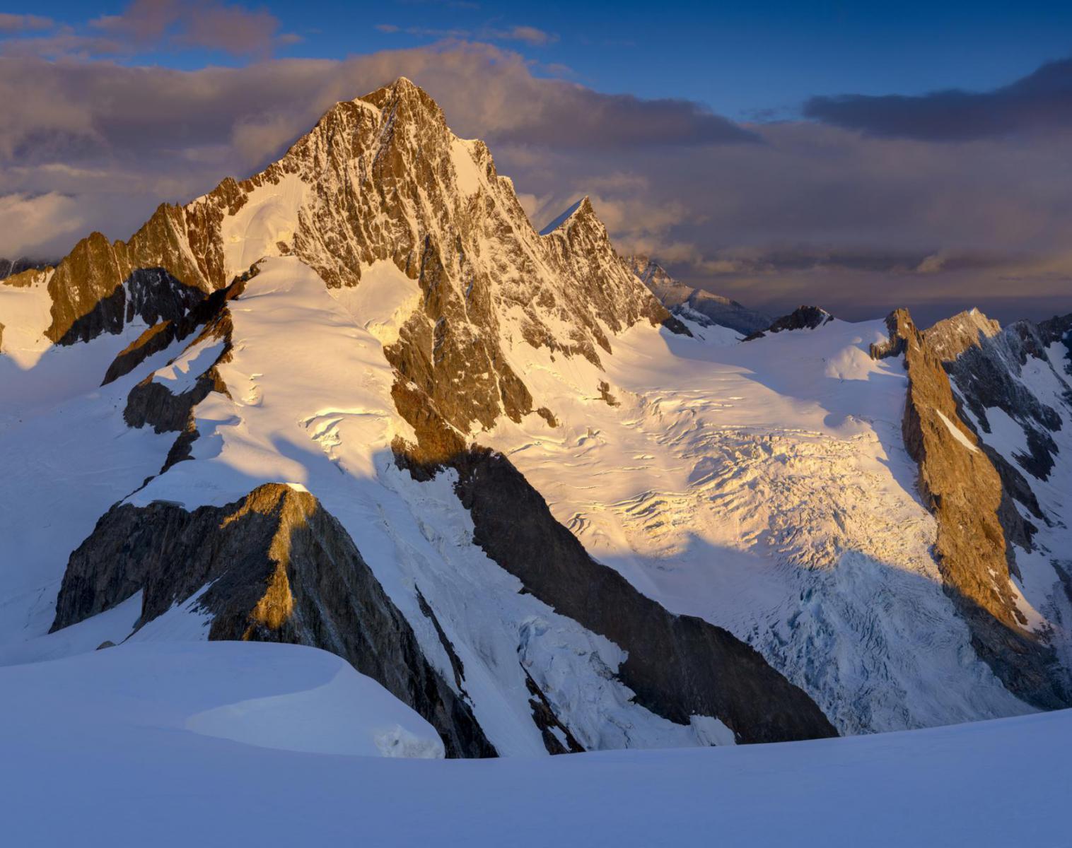 Suisse  Stage photo en haute montagne, Haute route Bernoise   Trek & Randonnée