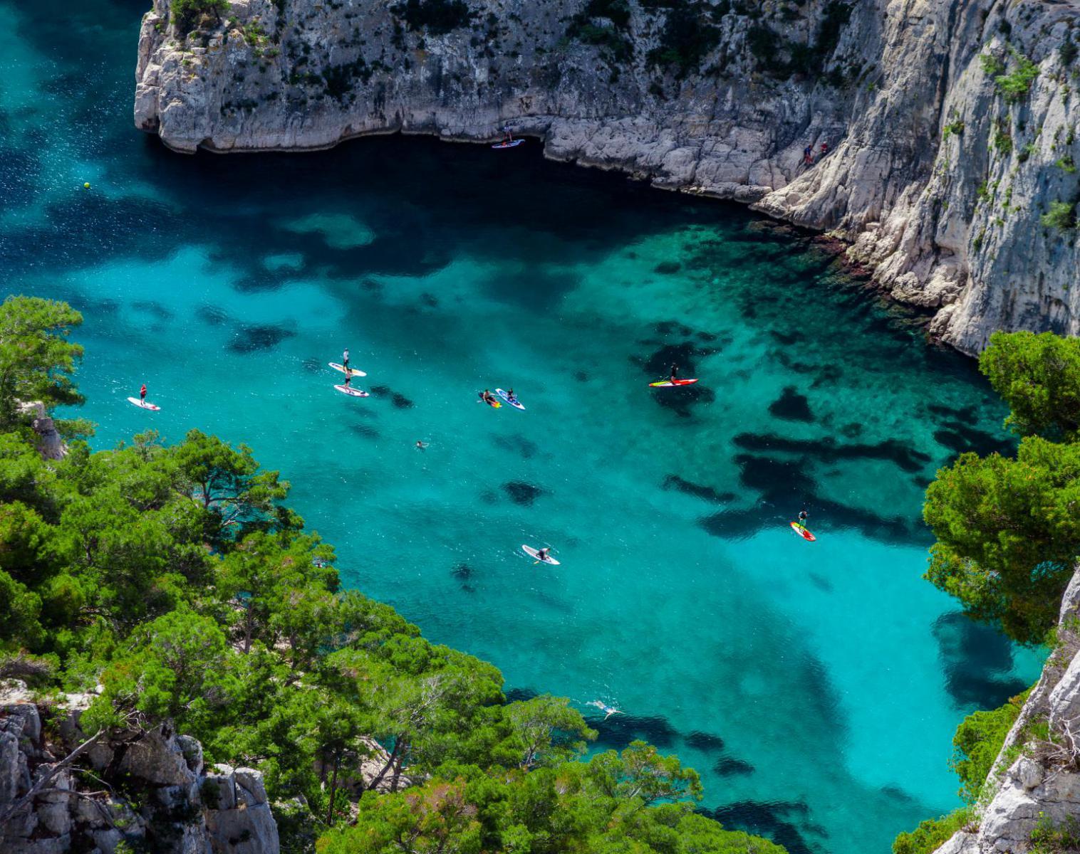 France  De la Côte Bleue à l'Île Verte en kayak de mer   Kayak & Canoë