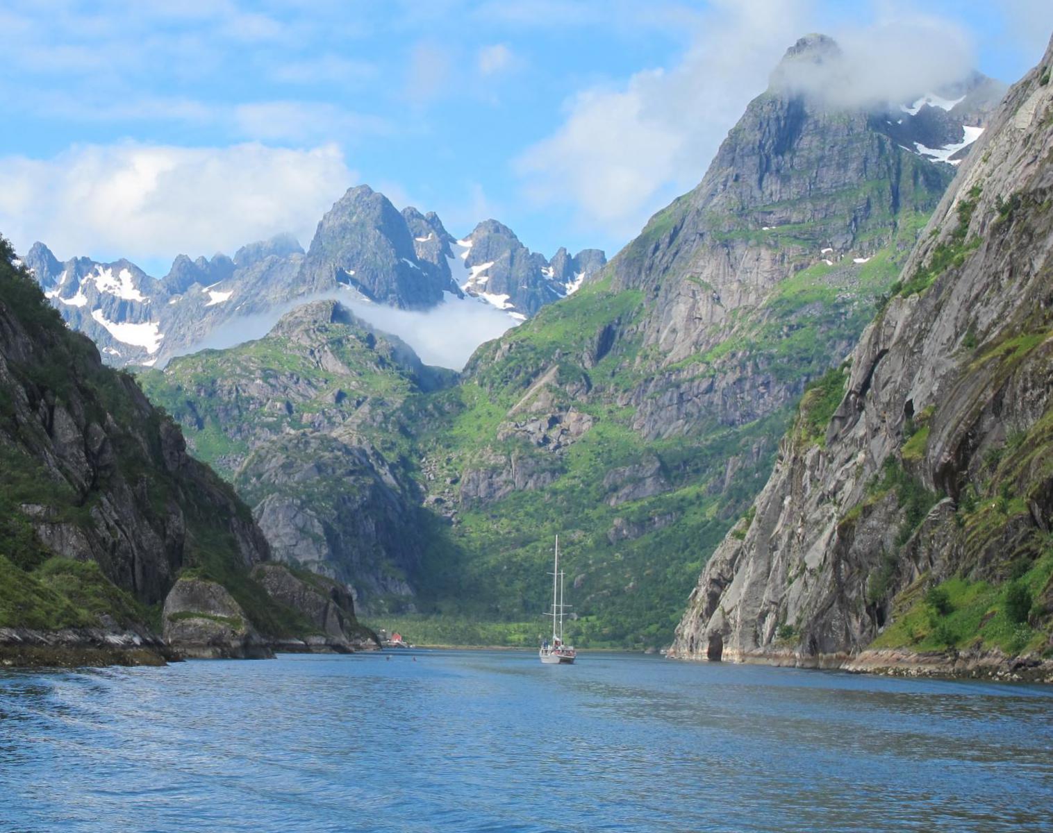 Spitzberg  Du Spitzberg aux îles Lofoten en voilier   Navigation