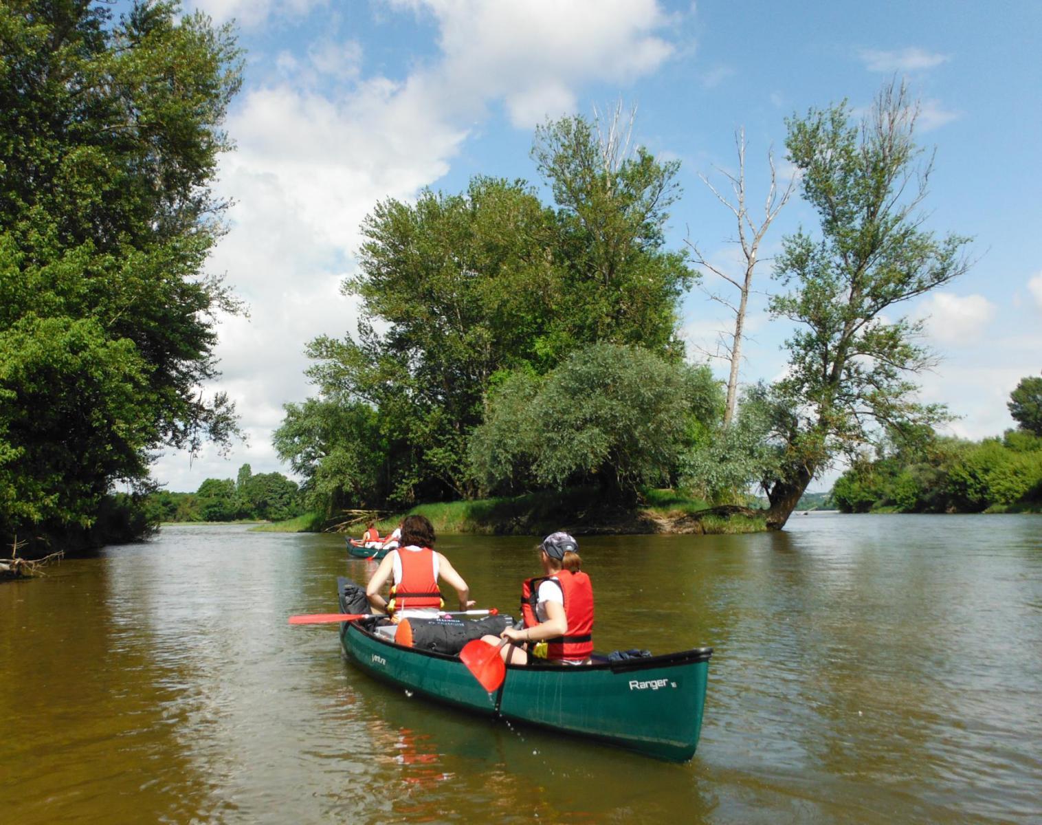 France  La Loire sauvage en canoë   Trek & Randonnée Kayak & Canoë