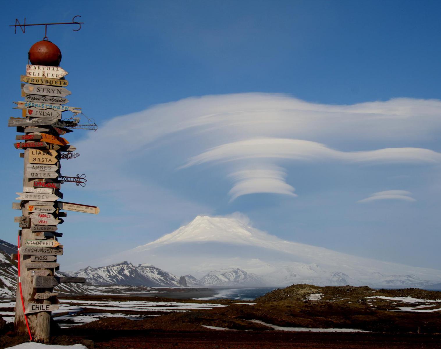 Norvège  Ile de Jan Mayen, ascension du volcan polaire de Beerenberg   Trek & Randonnée Navigation Ski de Randonnée