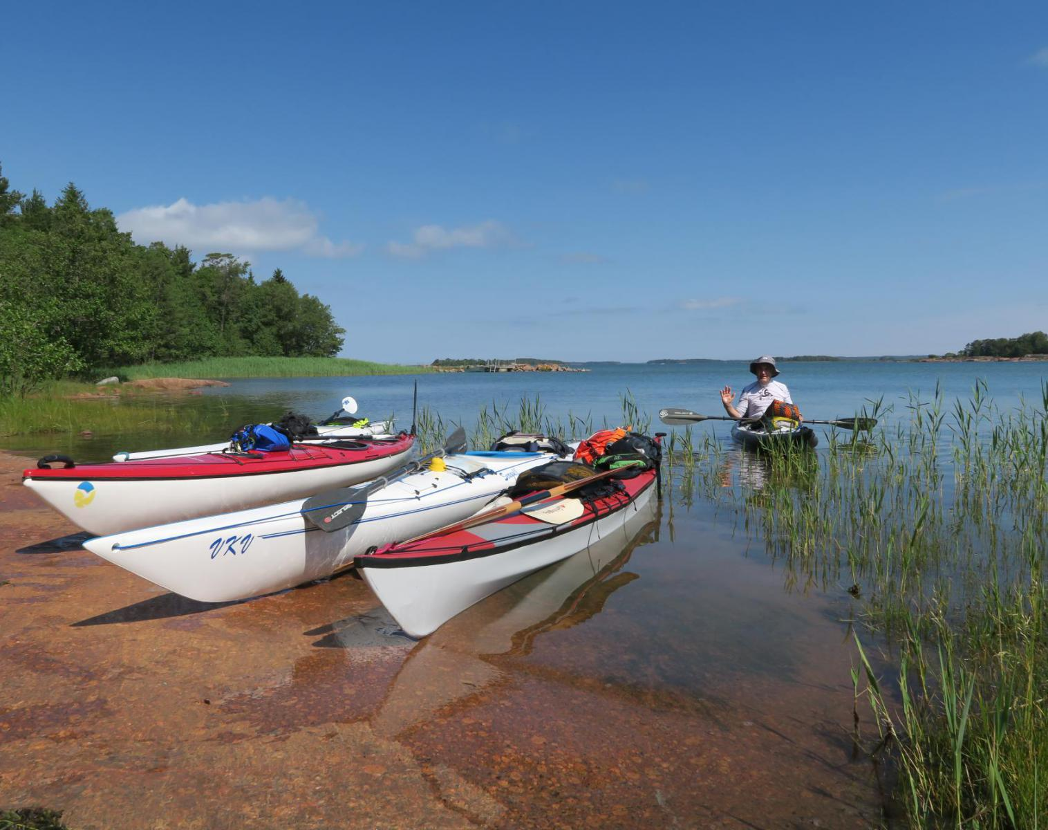 Finlande  L'Archipel d'Åland en Kayak de mer   Kayak & Canoë