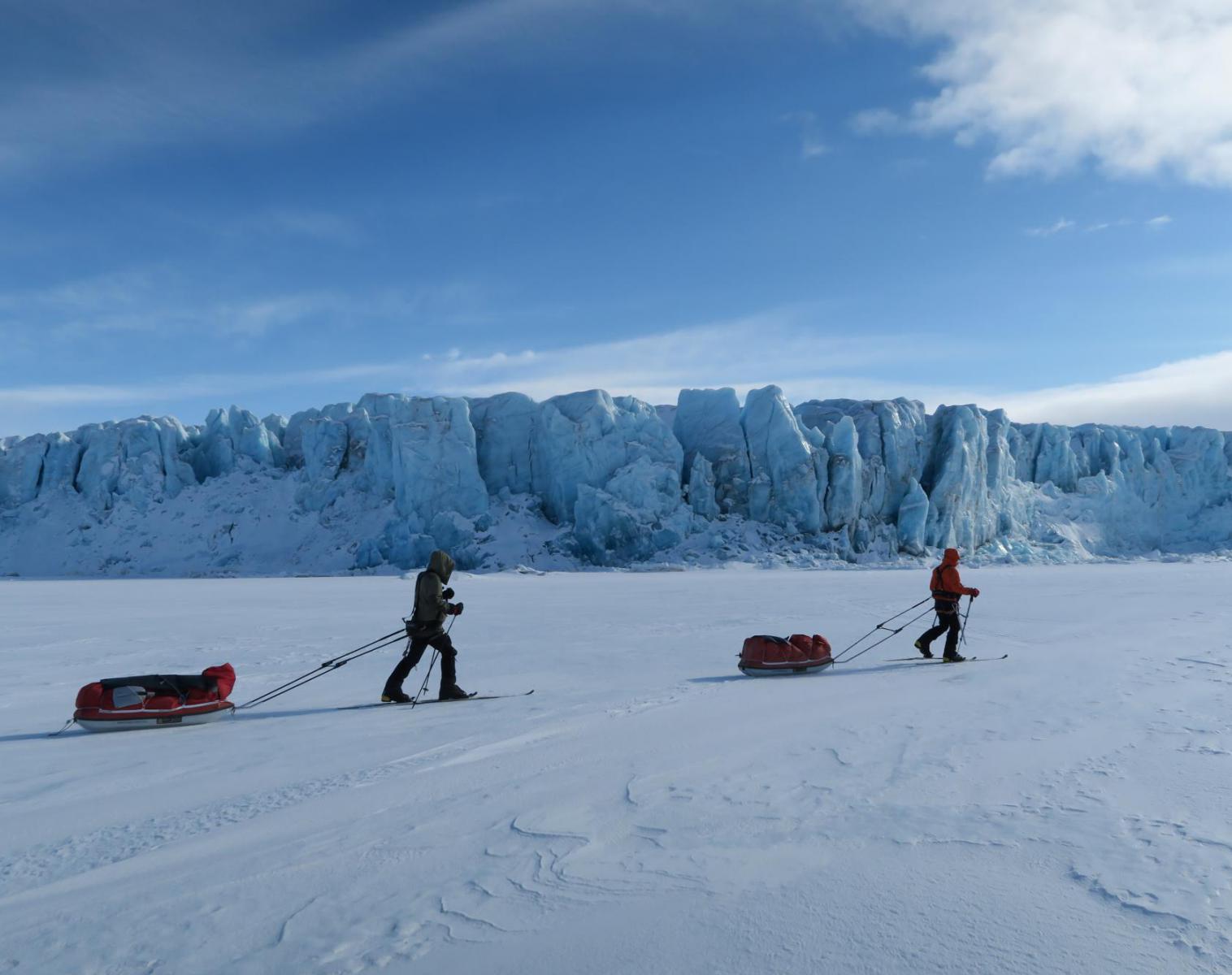 Spitzberg  Glaciers, banquise et ours polaire   Ski & Pulka