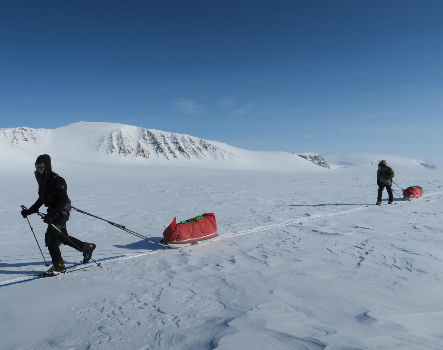 Spitzberg  Spitzberg, initiation au raid polaire en ski et pulka   Trek & Randonnée Ski & Pulka