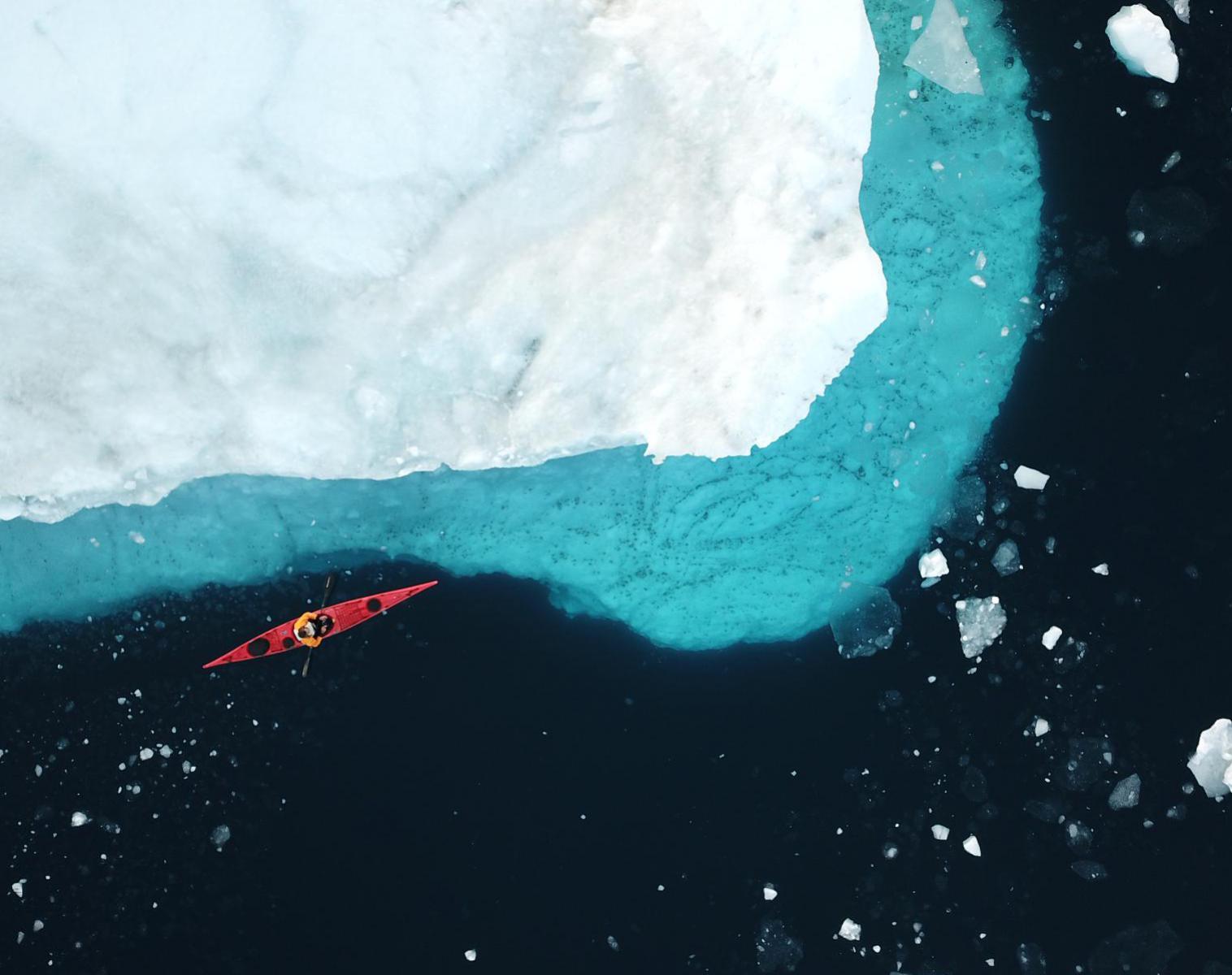 Groenland  La baie de disko en kayak de mer    Découverte Trek & Randonnée Kayak & Canoë