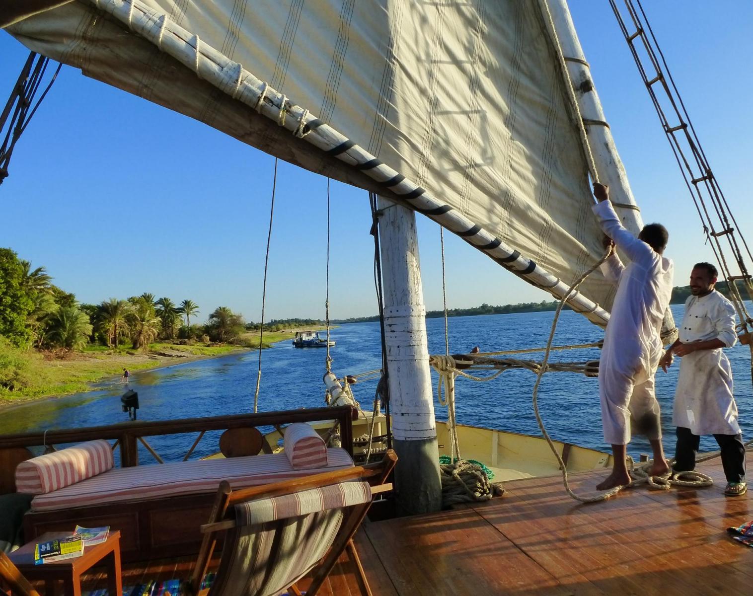 Égypte  Au fil du Nil en Sandal   Découverte Rencontres et cultures du Monde