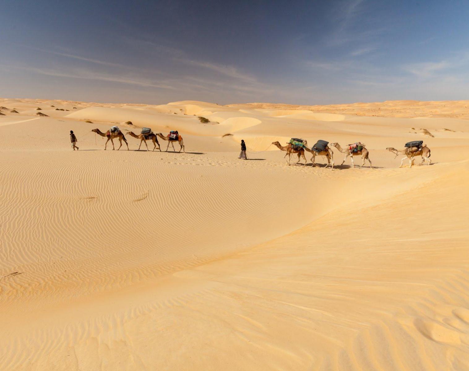 Mauritanie  La grande traversée