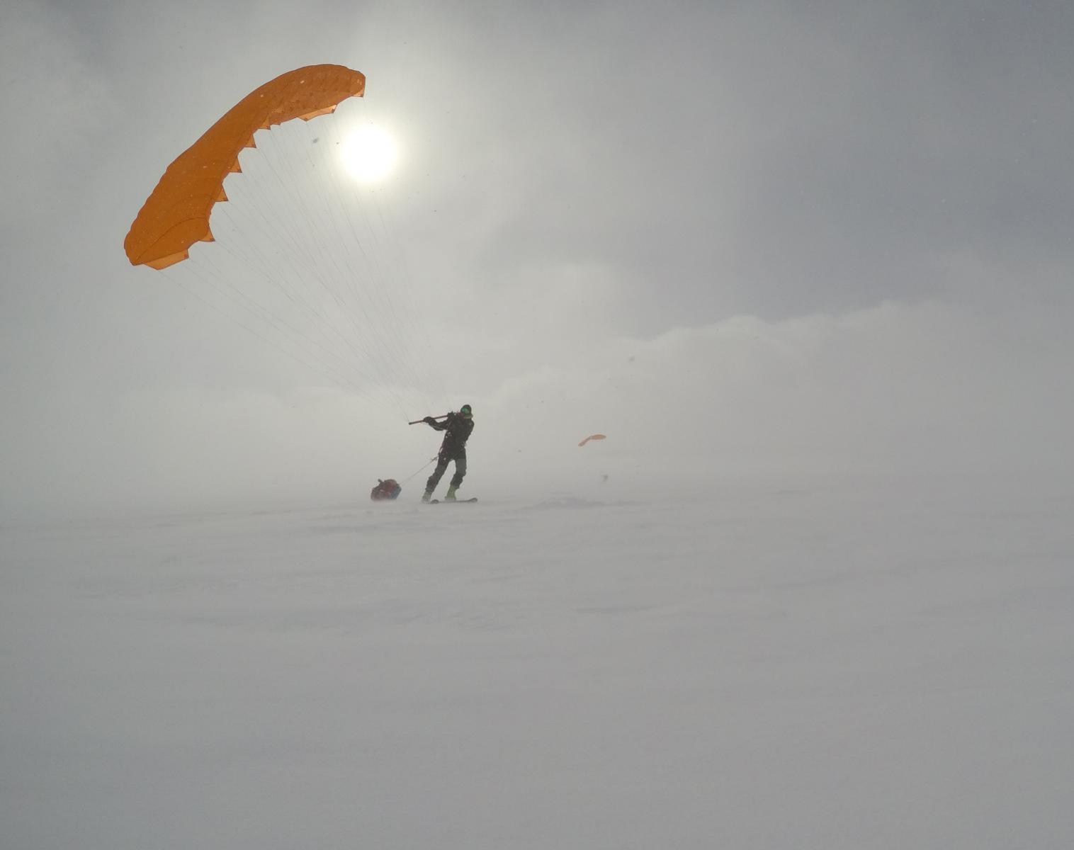 Groenland  Traversée du Groenland en pulka et snowkite   Ski & Pulka