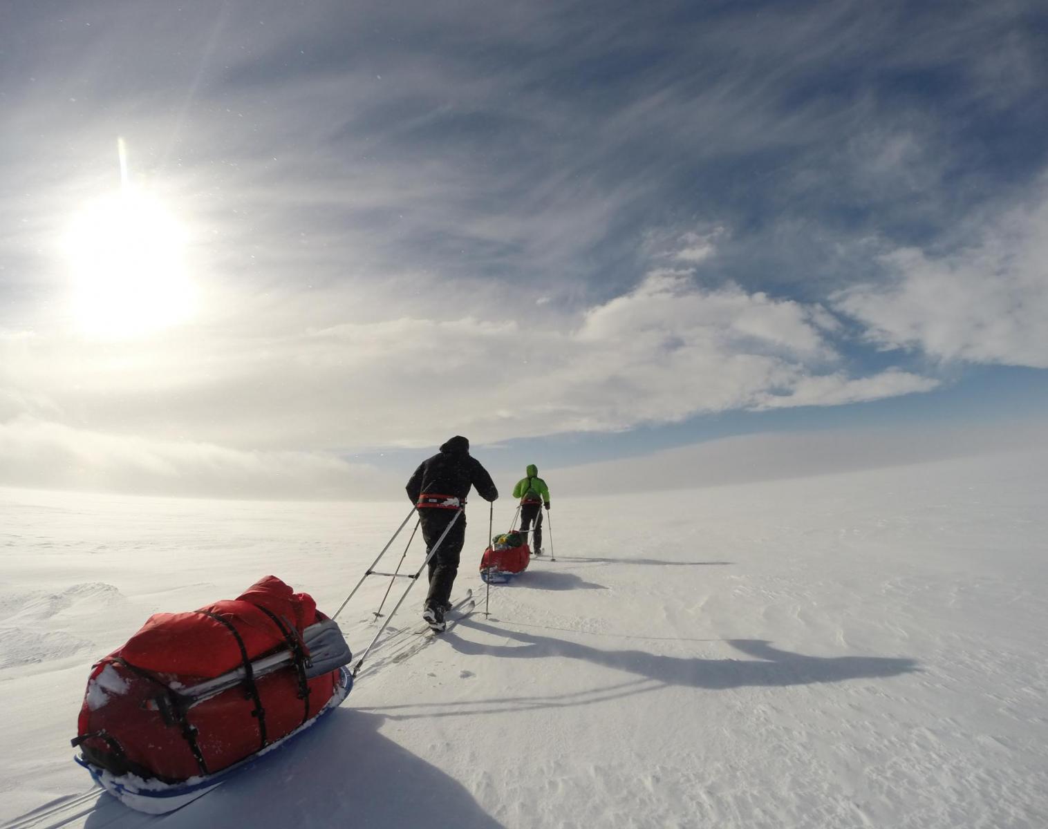 Islande  La grande traversée du Vatnajökull   Trek & Randonnée Ski & Pulka