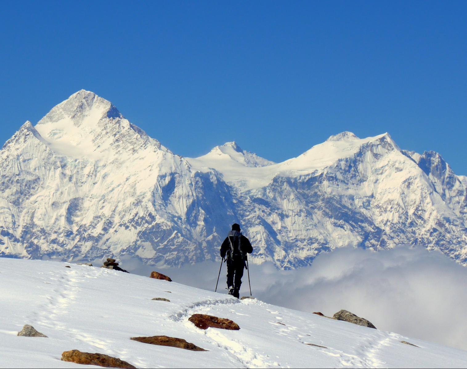 Népal  Du Kangchenjunga au Makalu par le Lumba Samba   Trek & Randonnée