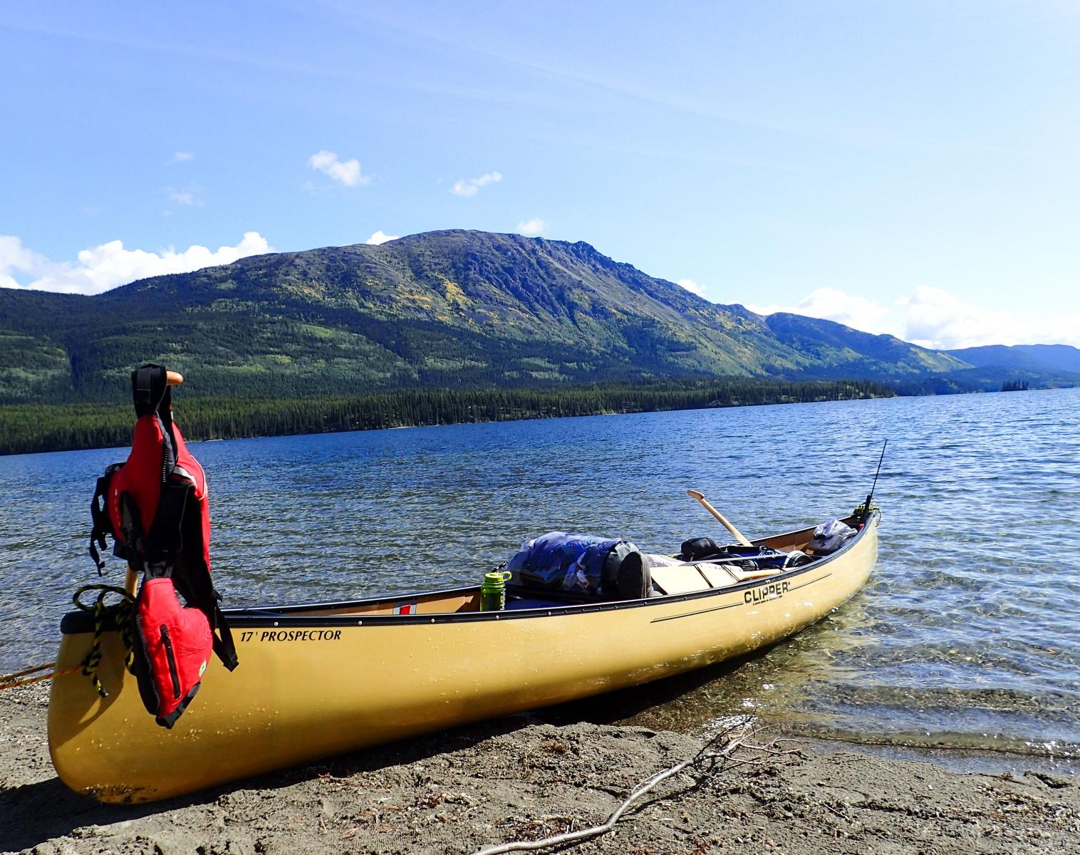 Canada  Yukon et Big Salmon, descente de rivières en canoë   Découverte Kayak & Canoë Observation nature