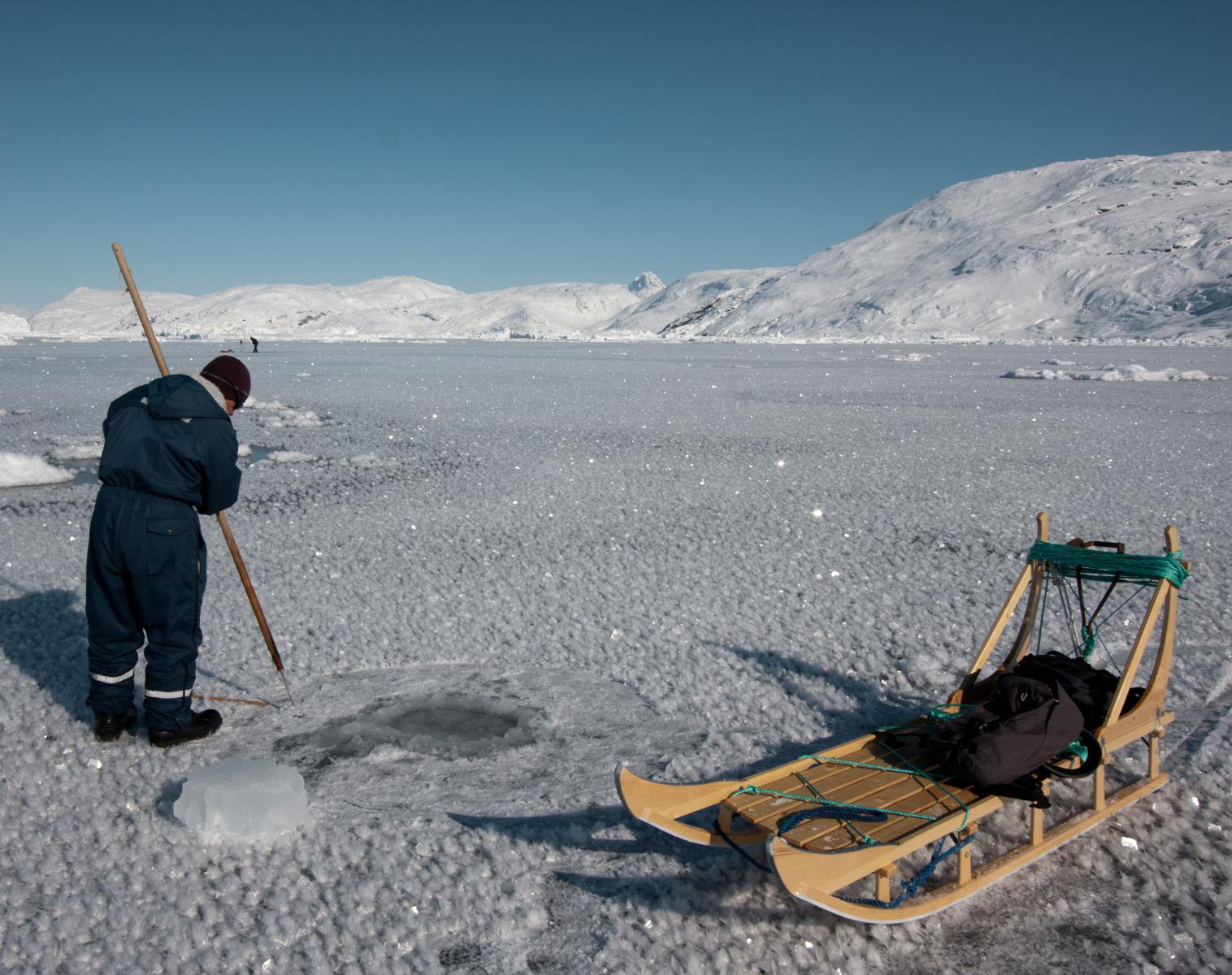 Groenland  Raquettes et banquise chez les derniers chasseurs Groenlandais   Raquettes Rencontres et cultures du Monde