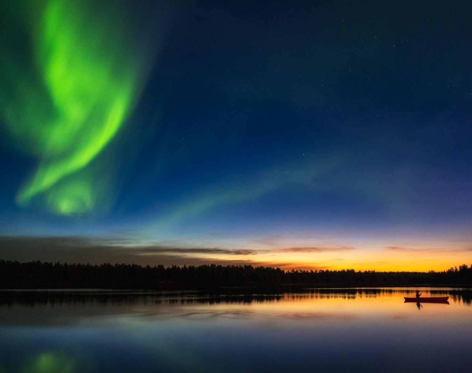 Norvège  Photographier les Aurores Boréales en Norvège   Photo Observation nature