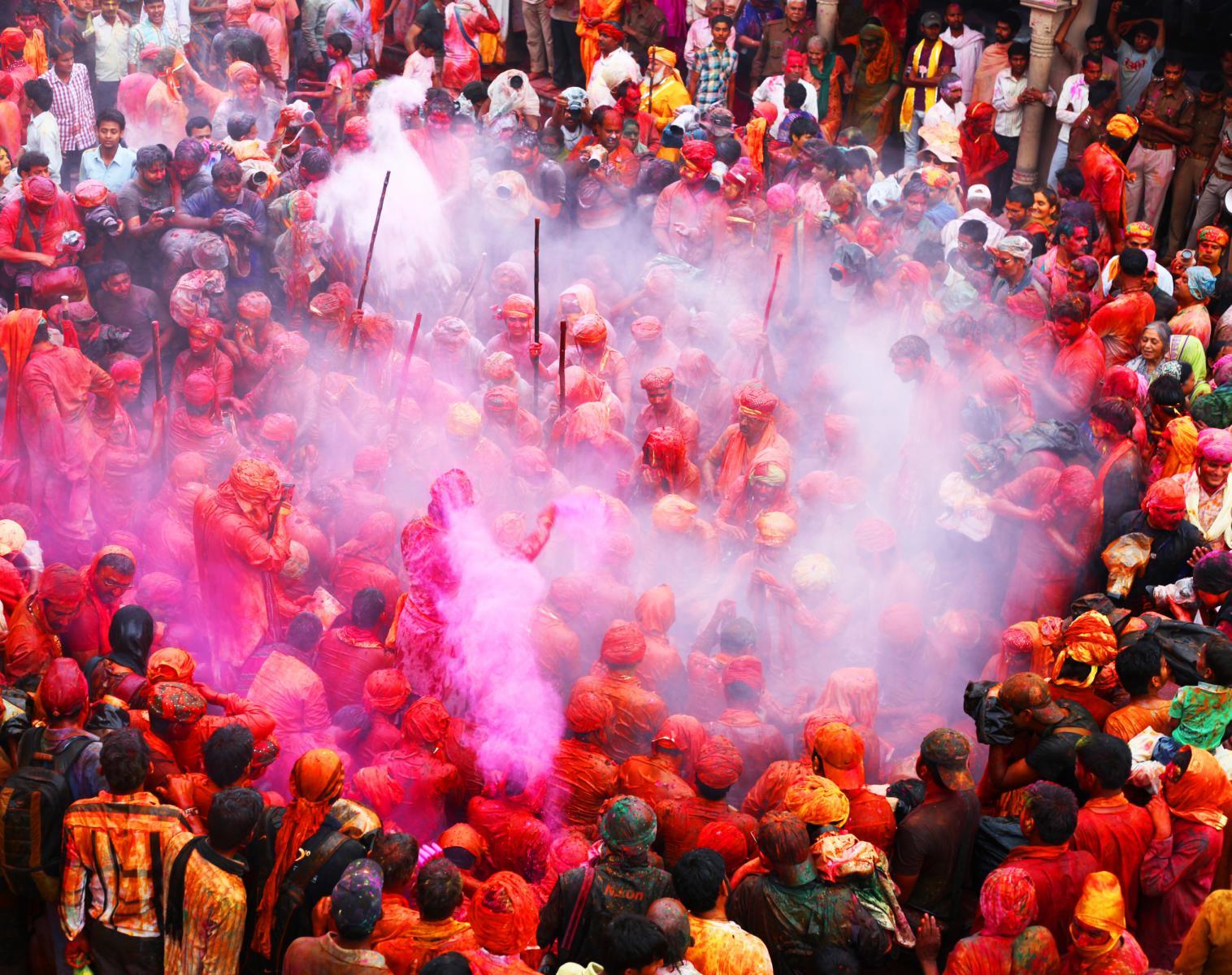 Inde  Rajasthan Secret, spécial Holi Festival   Découverte