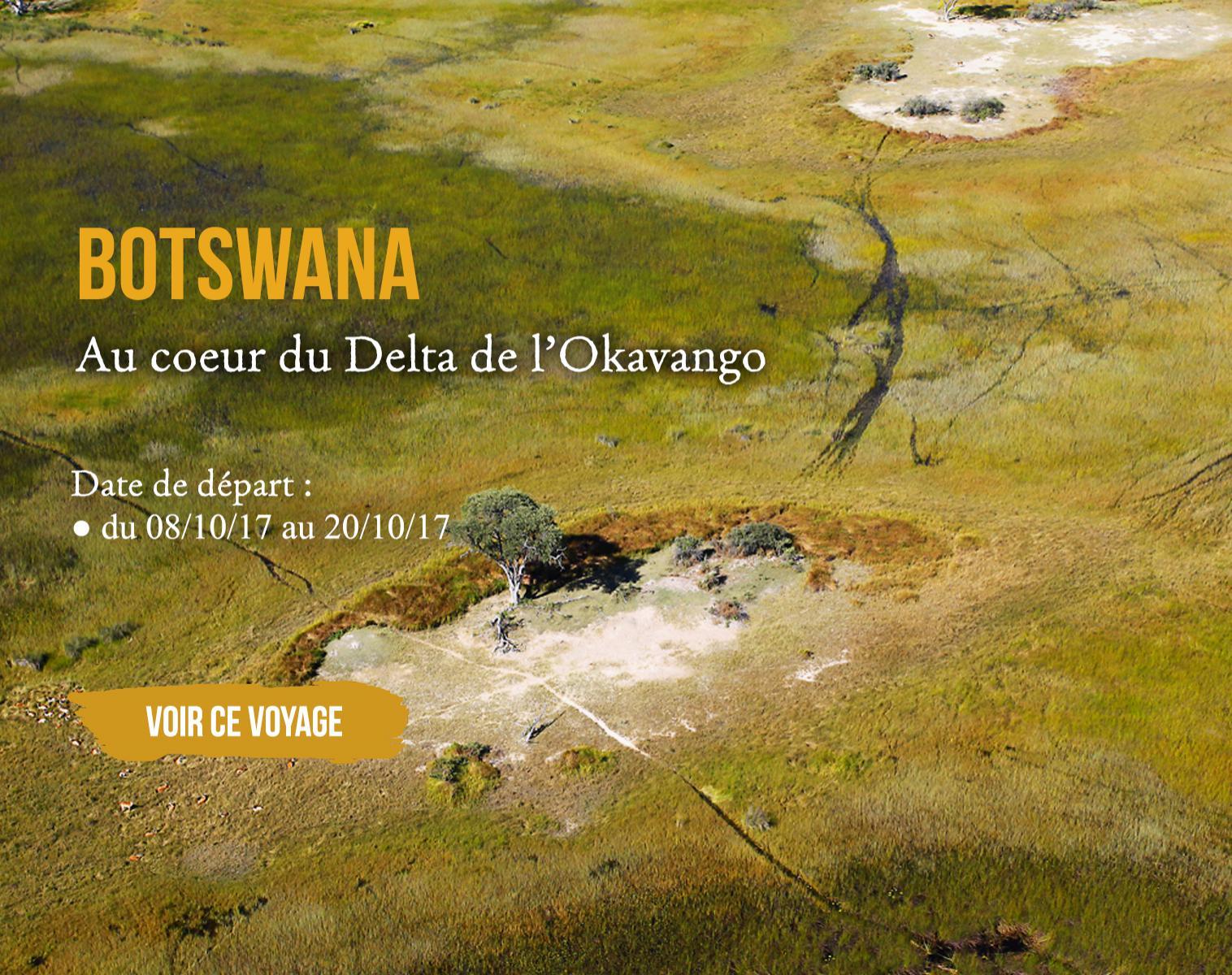 Botswana, au coeur du delta de l'Okavango