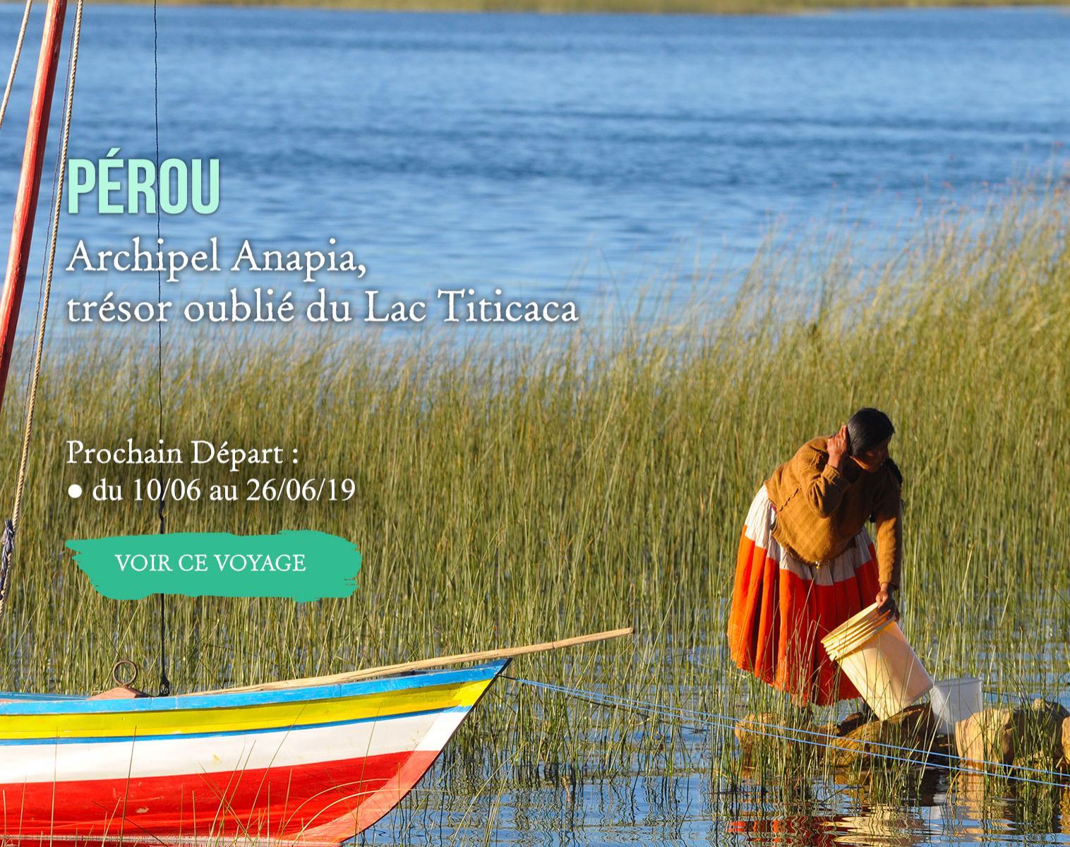 Pérou, Archipel Anapia