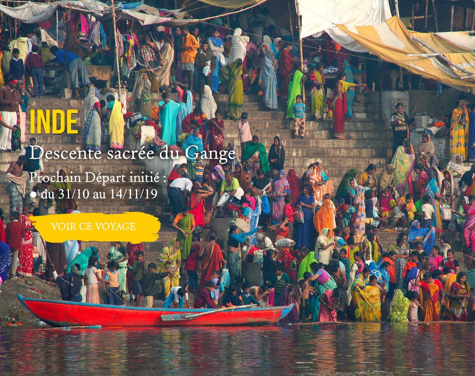 INDE, Descente sacrée du Gange