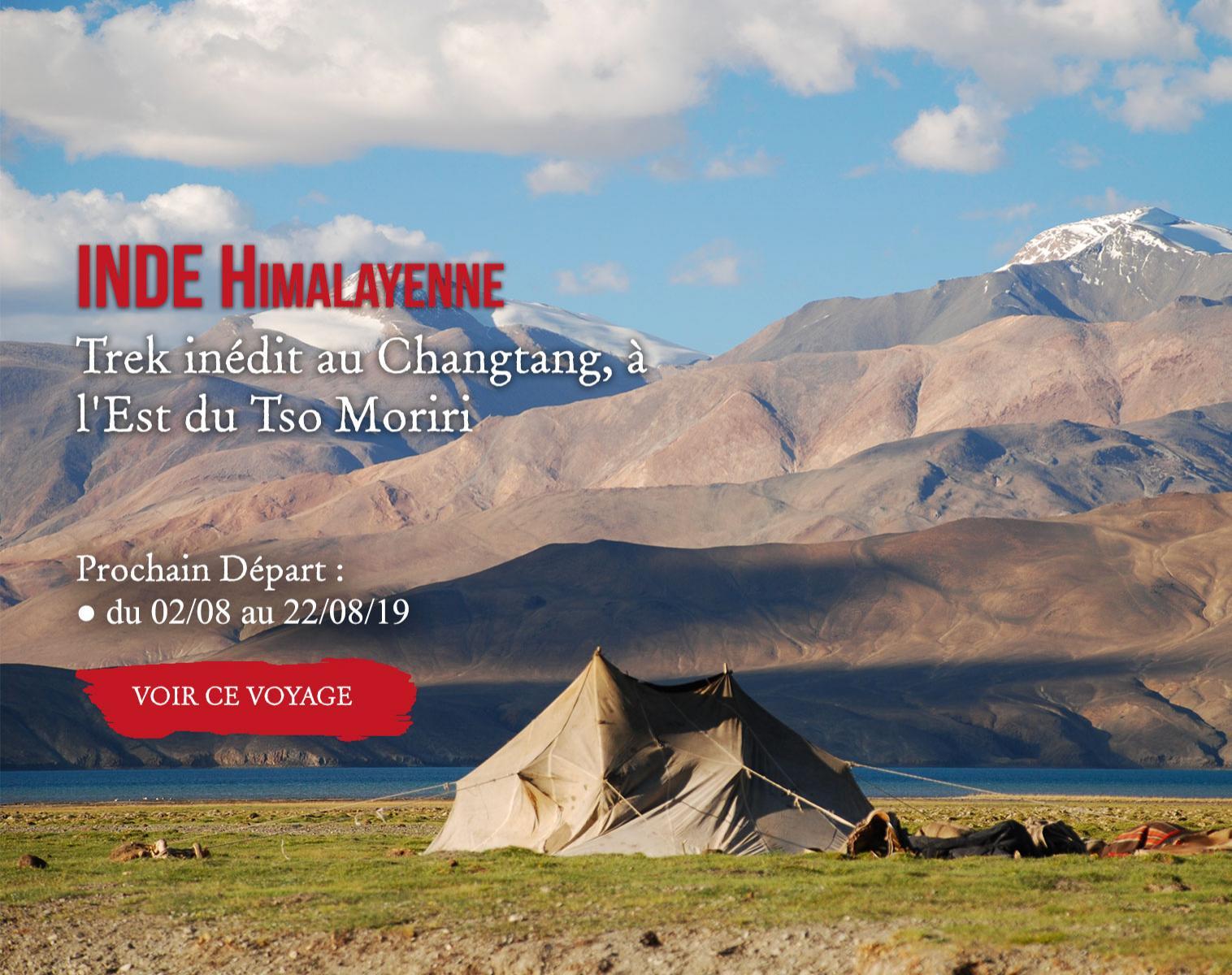 Inde, Trek inédit au Changtang, à l'Est du Tso Moriri