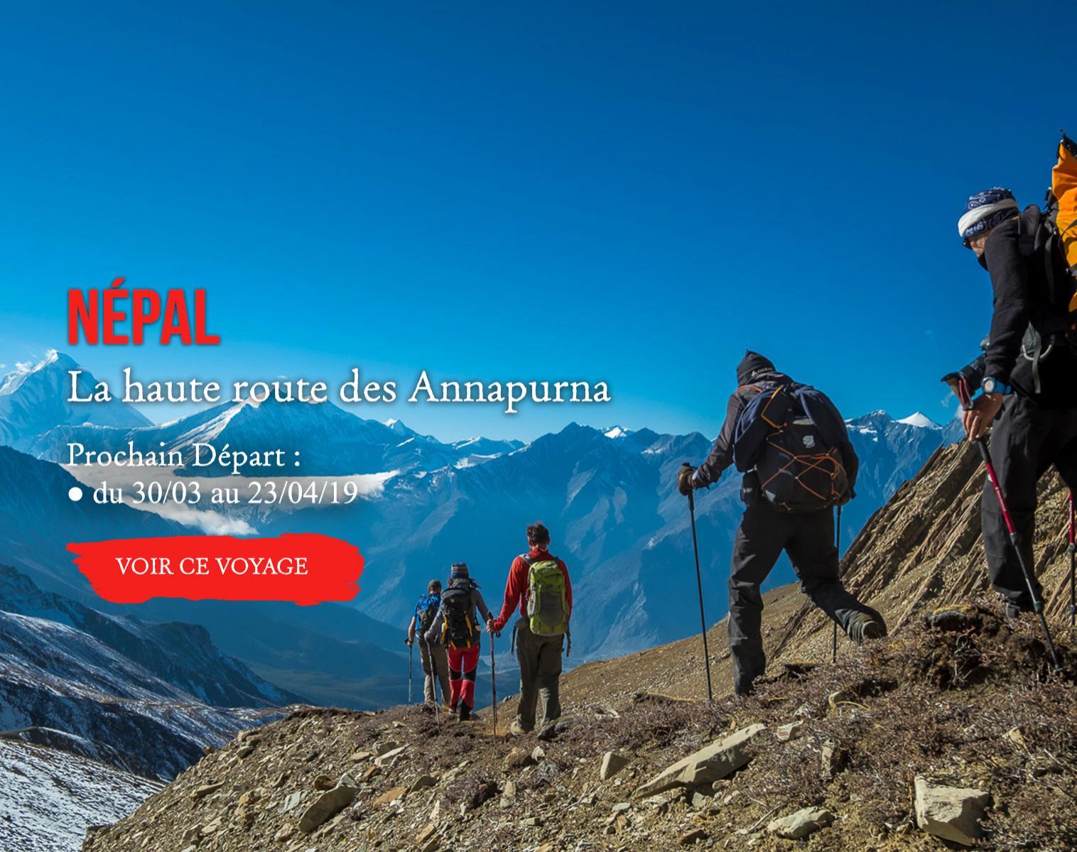 Népal, La haute route des Annapurna